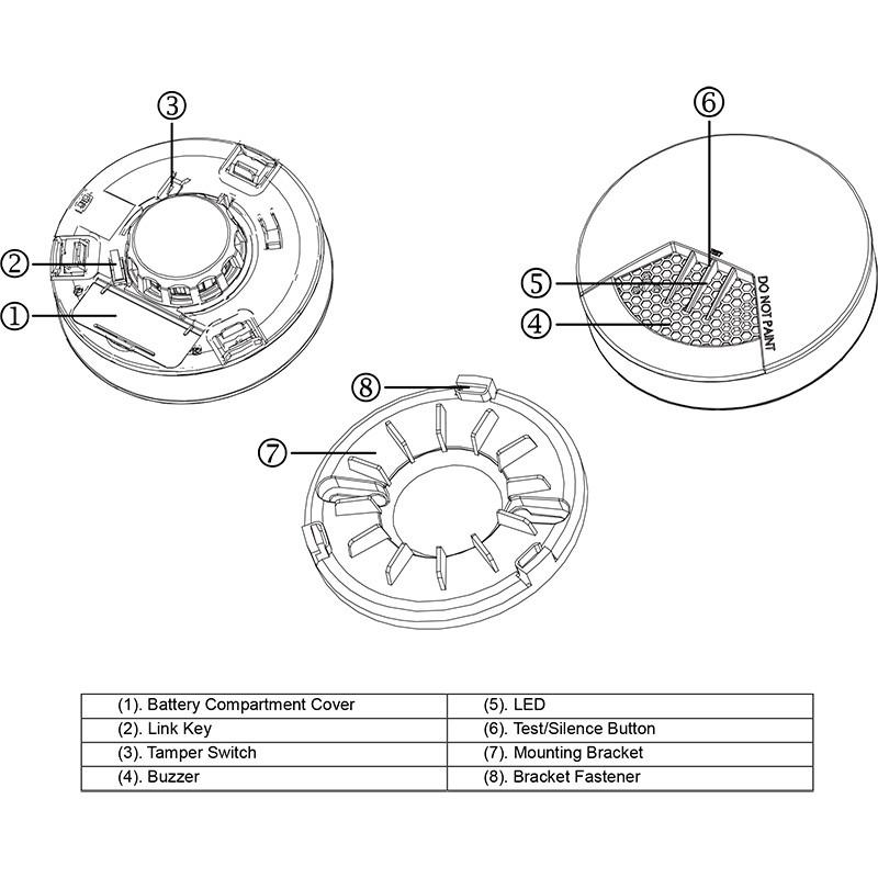 everspring z-wave smoke detector